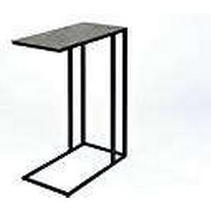 Lambert Nara Side Table, Metal, Graphite/Black, One Size